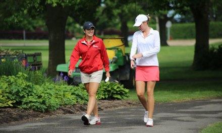 2014 Women's Porter Cup Round Two Scores & Photos