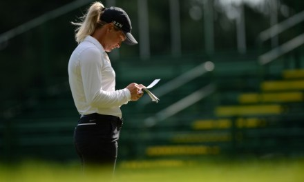 LPGA Championship: Brief Friday Interview with Suzann Pettersen
