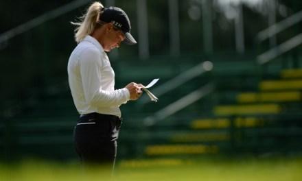 LPGA Championship: Brief Friday Interview with Suzann Pettersen