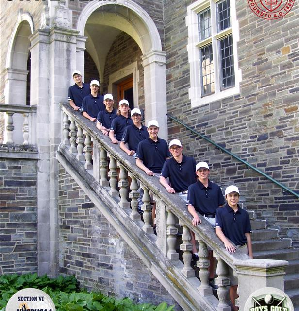 Section VI Boys Golfadds team championship in 2018
