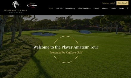Press Release: OnCore Golf Is Title Sponsor Of The Player Tour