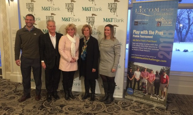 Press Release: LECOM Health Challenge Partnership with Porter Cup