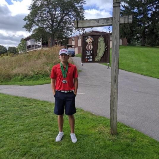 Tyler Birdd, Boys Champion, Elma Meadows