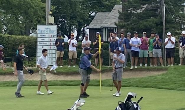 A quick nine with Porter Cup champion Ben Reichert