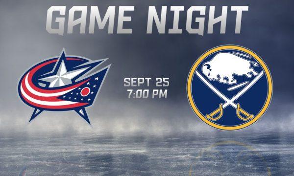 Sabres host Blue Jackets tonight