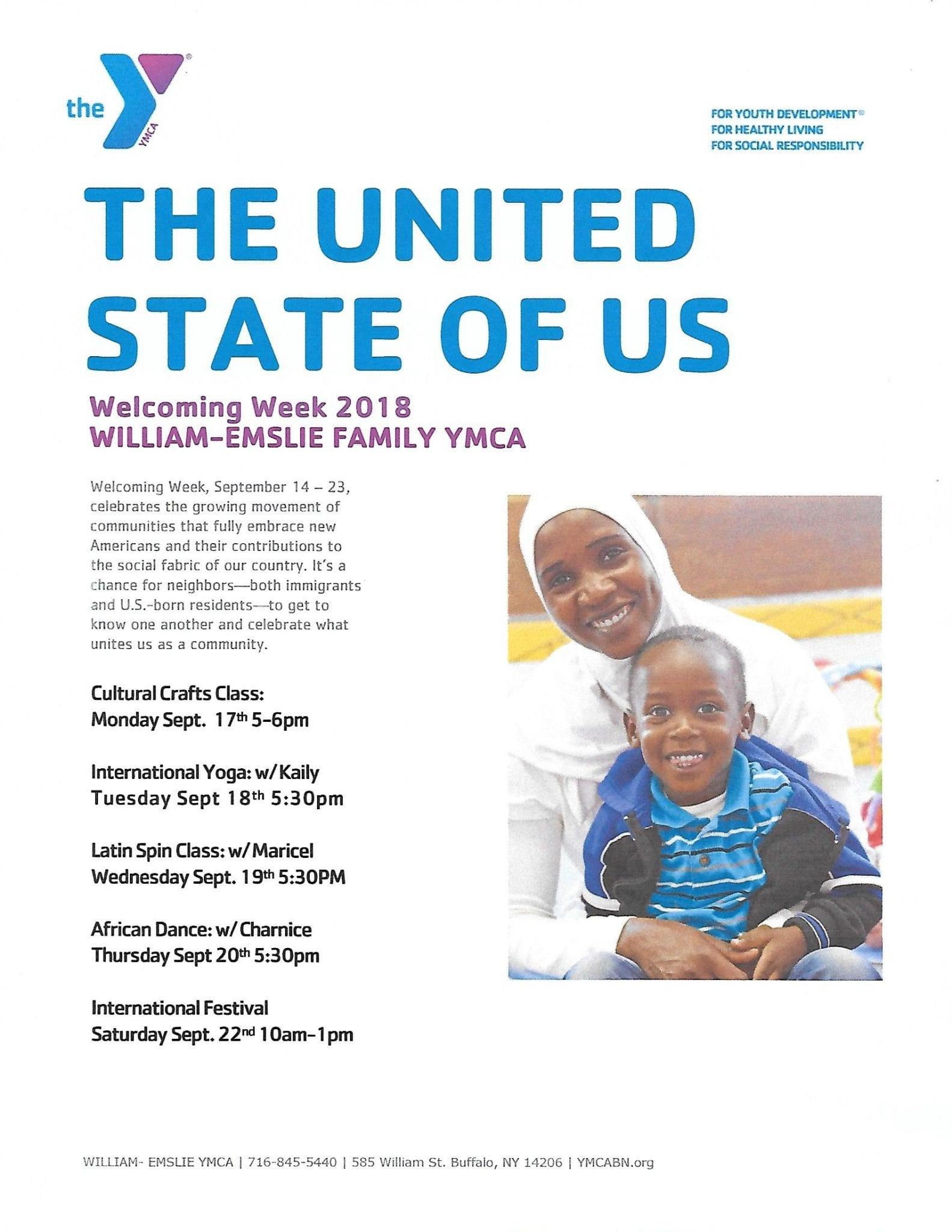 YMCA The United States of US |