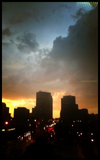 Storm at Sunset 1
