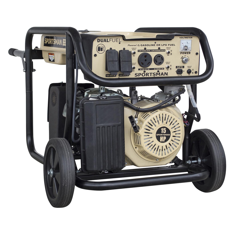 Sportsman Surge Watt Dual Fuel Generator