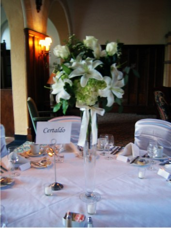 Park Country Club Wedding Flowers Amherst NY