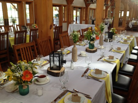 Flowers by Lipinoga Florist of Clarence NY for Wedding at Timberlodge in Akron NY (8)