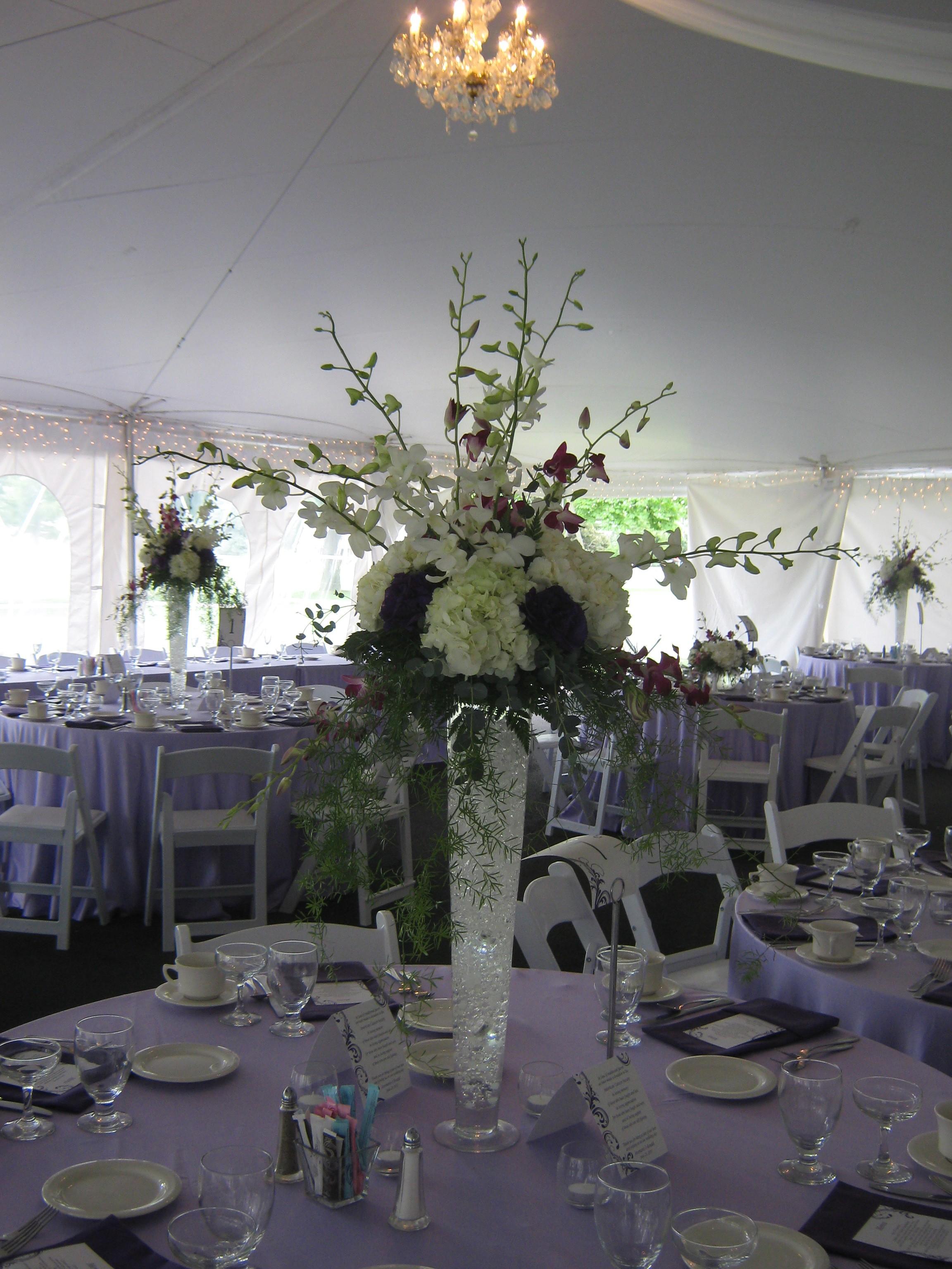 Tall Centerpieces Wedding Buffalo NY Buffalo Wedding