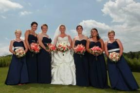 coral wedding flowers buffalo ny wedding