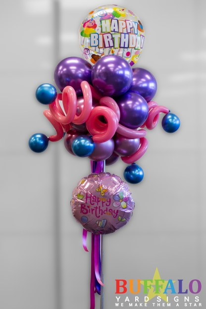 Birthday Balloon Party Pole