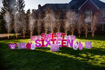 Sweet 16 Yard Sign Image