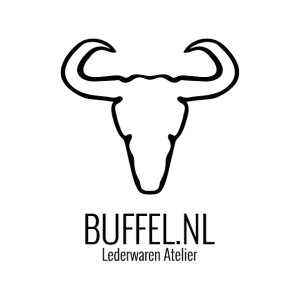 Logo Buffel Lederwarenatelier 596x596px zwart