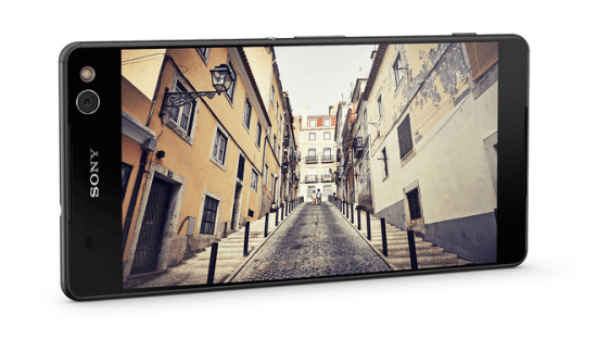 Sony Xperia C5 ultra screen