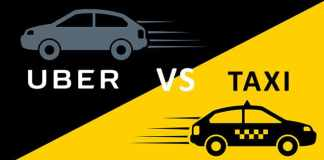 uber vs cabs: raid-hailing services