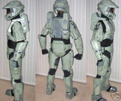 Halo costume, 2