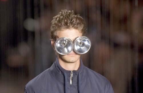 four-eyes, runway model