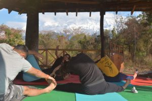 Yoga Retreat with a view