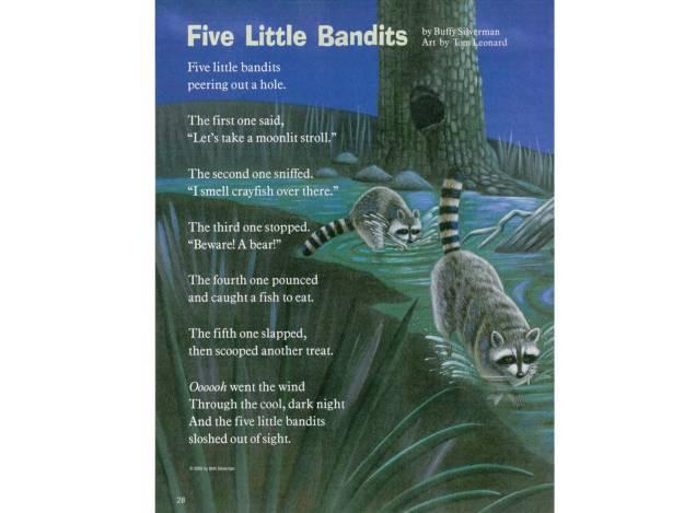 five-little-bandits