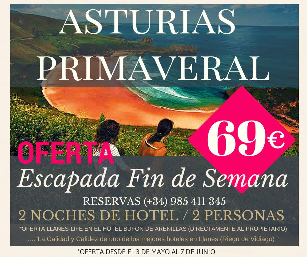 mejorate de tu asteria primaveral con nuestra escapada Asturias Primaveral