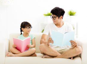 「親子 読書」の画像検索結果