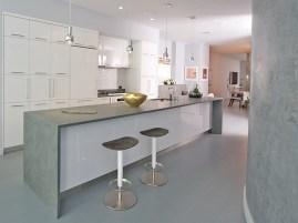 Stone Kitchen countertop installation