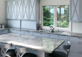 Quartzite Cielo kitchen countertop