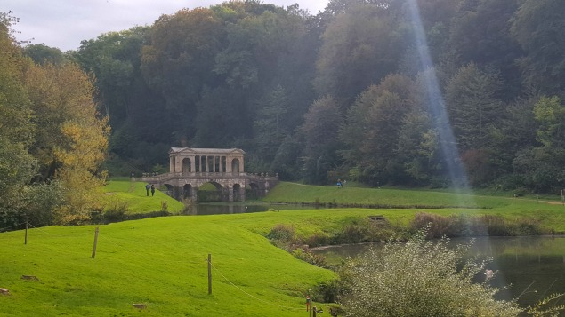 Prior Park Landscape Garden, Bath in Somerset.A National property with one of four Palladian bridges in the world.