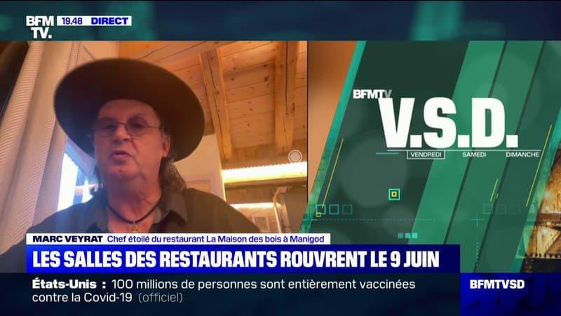 """Marc Veyrat sur la situation des restaurants: """"Nous sommes sous perfusion, donc nous ne sommes pas guéris"""""""