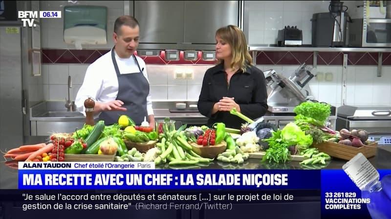 Ma recette avec un chef: la salade niçoise