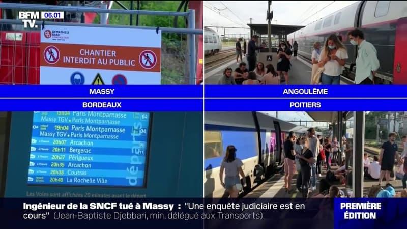 SNCF: un ouvrier tué dans un accident de chantier, 70 TGV bloqués