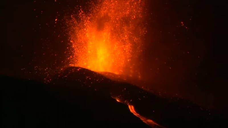 Éruption aux Canaries: la lave descend vers la mer, des gaz toxiques redoutés