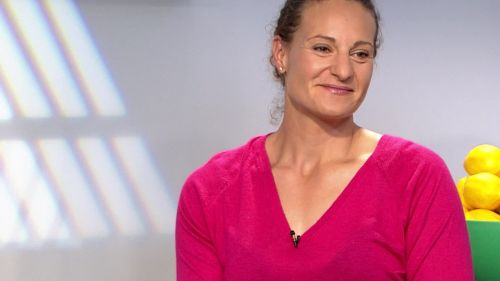 Lancer du disque : la championne lyonnaise Mélina Robert-Michon vise déjà les JO de Paris en 2024