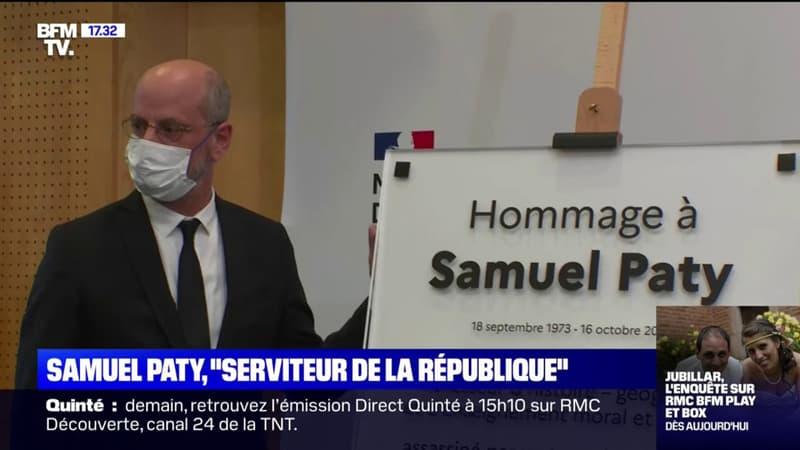 Retour sur la journée hommage rendue à Samuel Paty un an jour pour jour après son assassinat terroriste