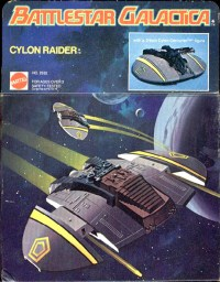 Battlestar Galactica Cylon Raider Box