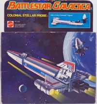 Battlestar Galactica Stellar Probe Box
