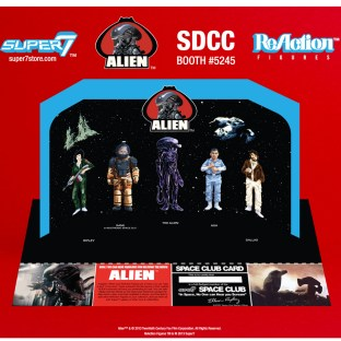 Alien ReAction Display Stand