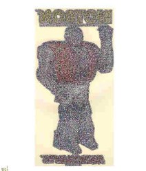Micronauts Iron On