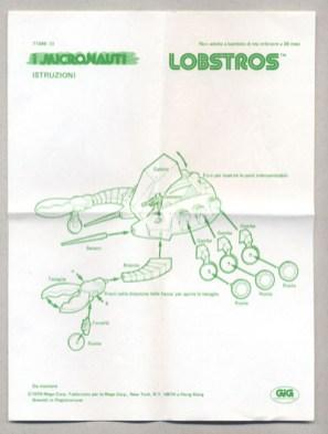 Mego Micronauts Lobstros