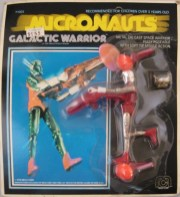 Micronauts Galactic Warrior Red