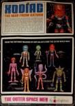 Outer Space Men Xodiac Back