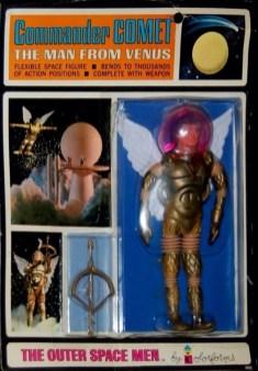 Outer Spce Men Commander Comet
