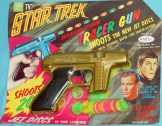 Star Trek packaged RayLine disc gun