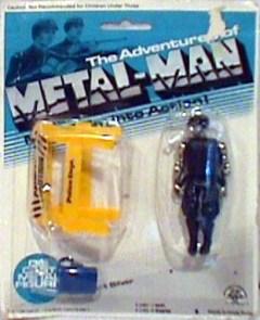 Zee Toys Metal-Man Sargeant Silver