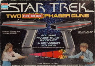 South Bend Star Trek The Motion Picture Electronic Phasers Box
