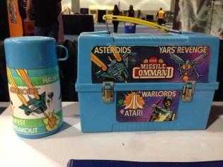 Atari Lunch Box and Thermos
