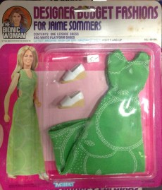 Six Million Dollar Woman Designer Fashions Green Dress