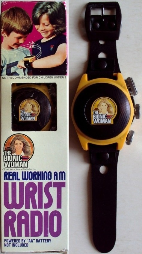 Bionic Woman Wrist Radio